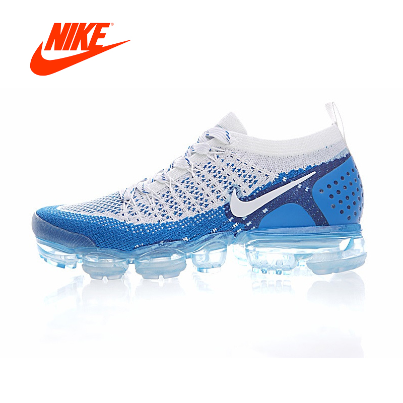c4607e3dd1de07 Original Authentic NIKE AIR VAPORMAX FLYKNIT 2 Mens Running Shoes Sneakers  Breathable Sport Outdoor Athletic Good Quality 942842