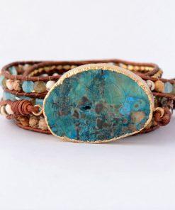Buyme.com.au - Women-Leather-Bracelet-Unique-Mixed-Natural-Stones-Gilded-Stone-Charm-5-Strands-Wrap-Bracelets-Handmade-Boho.jpg_640_640