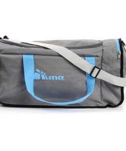 40L Foldable Gym Bag (Grey / Blue)