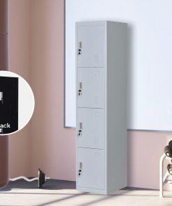 4 Door Locker - Office/Gym