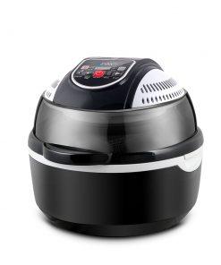Devanti 10L 6 Function Convection Oven Cooker Air Fryer- Black