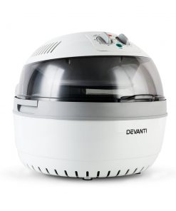 Devanti 10L Air Fryer Oven Cooker - Grey