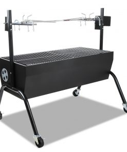 Grillz Portable Electric Spit Roaster & Rotisserie