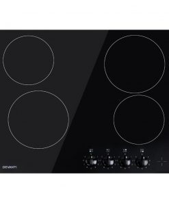 Devanti 6000W Four Burner Ceramic Cooktop - Black