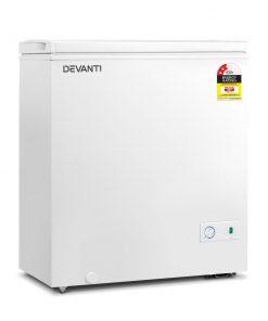 Devanti 145L Chest Freezer - White
