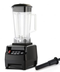 Devanti 2L Digital Commercial Blender LED Display Black