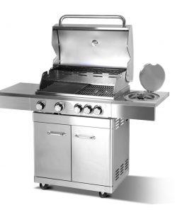 Stainless Steel 5 Burner Gas BBQ
