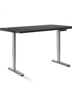 Artiss Height Adjustable Standing Desk Sit Stand Motorised Electric Roskos III Grey Black
