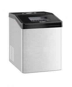 Devanti Commercial 3KG Ice Maker - Stainless Steel