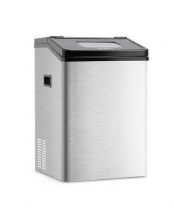 Devanti Commercial 8KG Ice Maker - Stainless Steel