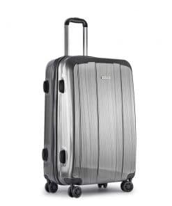 Wanderlite Lightweight Hard Suit Case Luggage Grey