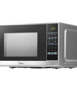 Midea 25L 900W Electric Digital Solo Microwave Oven Kitchen Silver