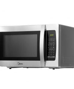 Midea 34L 1100W Electric Digital Solo Microwave Oven Kitchen Silver