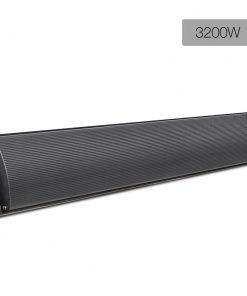 Devanti 3200W Electric Heater Panel - Black