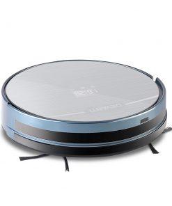 Devanti 4 Mode Robotic Vacuum Cleaner - Silver & Blue