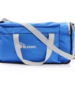40L Foldable Gym Bag (Blue / Grey)
