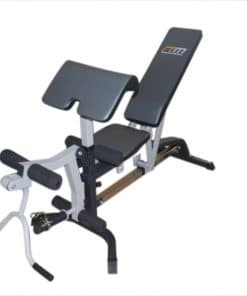 FID Flat Incline Decline Bench Press w/ Leg Extension