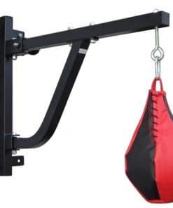 Boxing Punching Bag Wall Pivot Rack