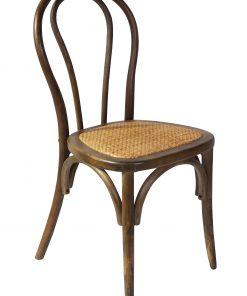 Bentwood Chair Walnut Set Of 2