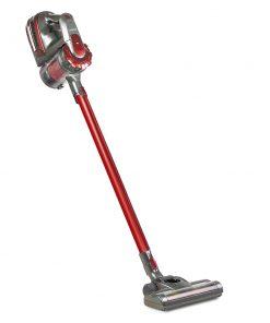 Devanti 150 Cordless Handheld Stick Vacuum Cleaner 2 Speed   Red And Grey