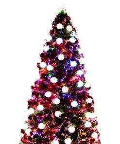 Jingle Jollys 1.8M 6FT LED Christmas Tree Xmas Optic Fiber Multi Colour Lights