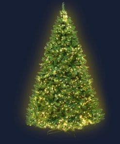Jingle Jollys 2.1M 7FT Christmas Tree 1134 LED Lights 1134 Tips Warm White Green
