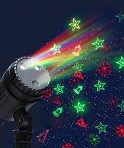 Jingle Jollys Moving LED Lights Laser Projector Landscape Lamp Christmas Decor