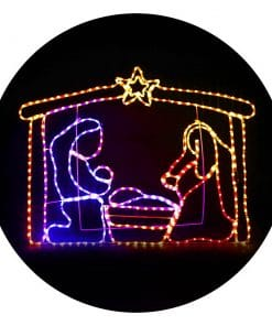 Jingle Jollys Motifs Lights - Nativity Scene