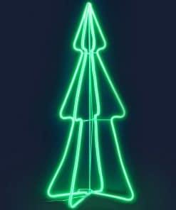 Jingle Jollys Christmas LED Motif Light 1.2M Tree Waterproof Colourful