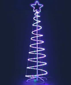 Jingle Jollys Christmas LED Motif Light 1.88M Tree Waterproof Colourful
