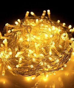 Jingle Jollys 50M 250 LED Christmas String Lights Warm White