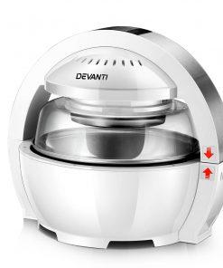 Devanti 13L Air Fryer Oven Cooker - White