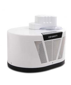 Devanti Ice Cream Maker with Built in Compressor