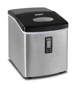 Devanti 3.2L Stainless Steel Portable Ice Cube Maker