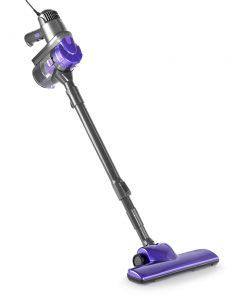Devanti Corded Handheld Bagless Vacuum Cleaner - Purple and Grey