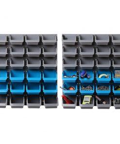 Giantz 48 Bin Wall Mounted Rack Storage Organiser