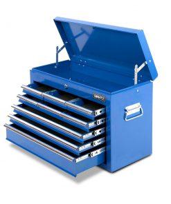 Giantz 9 Drawer Mechanic Tool Box Storage - Blue